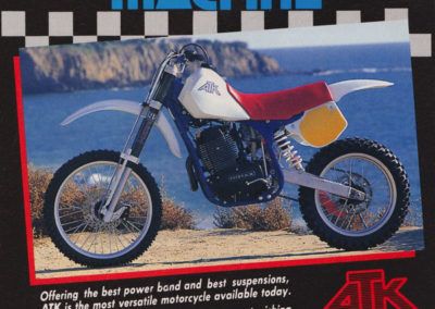 1986 ATK 560 The Ultimate Machine