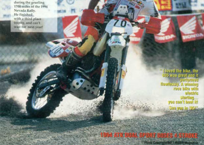 1994 ATK Nevada Rally