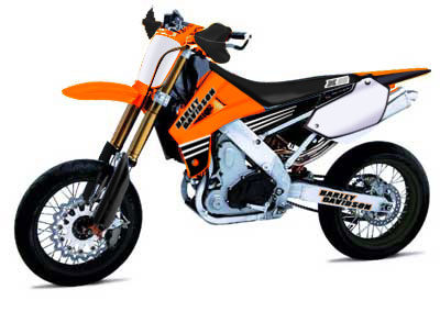 2004 HD Dirt Track-Motard