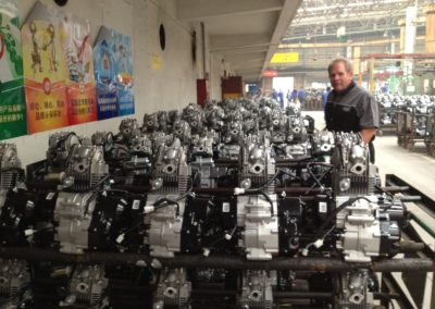 2012 White inspecting Motors